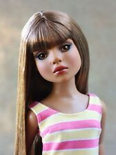 Tonner Ellowyne Wilde Essential Lizette Wigged Out Too Long Brown Doll Wig