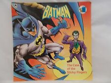 1990  BATMAN  *THE  CASE  OF  THE  STICKY  FINGERS* PAPERBACK  COMIC SP. EDITION