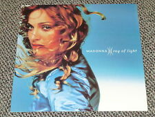 MADONNA RAY OF LIGHT UK 1994 OFFICIAL RECORD COMPANY PROMO 12 INCH FLAT MINT!