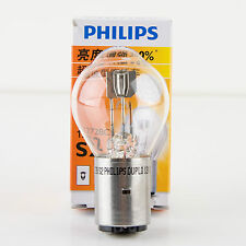 Philips Snowmobile Headlight Bulb S2 12V 35/35W BA20d - 30% Brighter than Stock