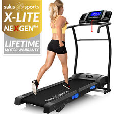 X-LITE NEX-GEN™ TREADMILL - Manual Incline - Motorised Folding Running Machine