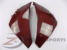 2009-2014 Yamaha R1 Lower Bottom Belly Pan Fairing Cowl 100% Carbon Fiber Red