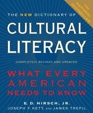 The New Dictionary of Cultural Literacy: What Every American Needs to Know, E. D