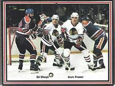 1985-86 Chicago Blackhawks Team Calendar, Savard, Etc..