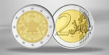 GRECE 2 Euro 150eme anniversaire union des iles ioniennes grece 2014  UNC