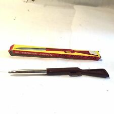 Vtg  BREVETTATO NOVELTY Win-Chester Toy Rifle Pen 1950'S Italy w Box