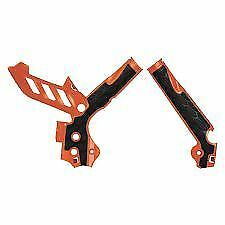KTM XC XCF 200 250 350 11-15 ACERBIS ORANGE BIKE FRAME GUARD GUARDS PROTECTOR