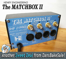 Henry Engineering The Matchbox II IHF Pro Stereo Level Matching Interface / Amp