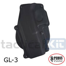 New Fobus Glock 20 21 Paddle Holster UK Seller (Airsoft) Left Handed GL-3 LH