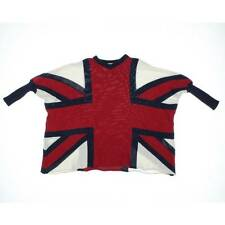 NOAH LOVES SOPHIA ~ UNION JACK RED WHITE BLUE SWEATER ~ KIDS SZ 1 (2-3 YR) NWT