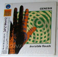 GENESIS - INVISIBLE TOUCH - CD Japan w/Obi Vinyl Replica Sealed