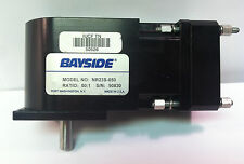 Bayside Model NR23S-050 Reduction Head / Gear Box / Speed Reducer 50:1 Ratio