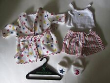 Retired Pleasant Co American Girl 2000 Stars & Stripes Sleep Set - complete