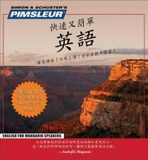 Pimsleur English for Chinese Mandarin Speakers Chinese Edition