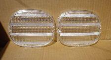 Chevrolet Corvette 1991 - 1996 Custom Clear Tail Light Lenses Reproductions New