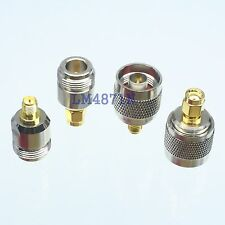 Kit Adapter 4pcs/set N to RP.SMA type male female RF connector Test converter