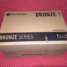 BRANDNEWSEALED Monitor Audio Bronze 1 Bookshelf Speakers (PAIR) (BLK or WALNUT)