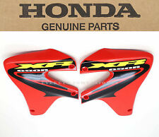 New Genuine Honda Radiator Shroud Set 2000-2007 XR650 R OEM Fighting Red #X25