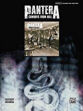 Pantera Cowboys from Hell Sheet Music Guitar Tablature Book NEW 000700155