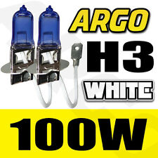 H3 100W SUPER WHITE 453 FOG SPOT LIGHT BULBS HID VOLKSWAGEN JETTA