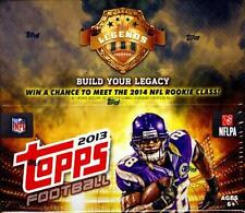 2013 Topps Football Factory Sealed 24 Ct Retail Box