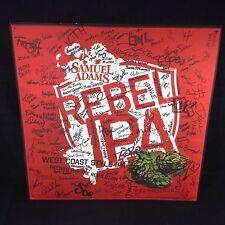 SAMUEL SAM ADAMS REBEL IPA BEER TIN SIGN NEW!! GRAFFITI ART BAR PUB MAN CAVE