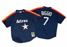 Craig Biggio 1991 Houston Astros Mitchell & Ness BP Jersey XL