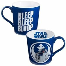 Star Wars R2-D2 Image Bleep Bleep Bloop 12 oz. Ceramic Coffee Mug, NEW UNUSED