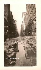 Street Scene After 1936 Flood Pittsburgh PA Photograph