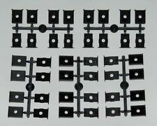 Kadee 242 HO Universal Black Box Snap-Together Insulated Gear Boxes & Lids (20)