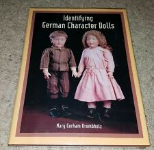 Identifying German Character Dolls (Hard cover book, 2008) Krombholz Rare