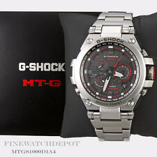 Authentic Casio G-Shock Men's Stainless Steel MT-G Series Watch MTGS1000D-1A4