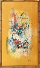Hoi Lebadang -  Lithograph on Silken Cloth - Hand Signed by Artist
