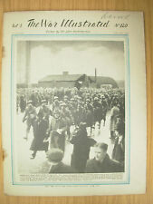 WAR ILLUSTRATED MAG No 120 FEBRUARY 10th 1942 US INFANTRYMEN ARRIVE IN BRITAIN