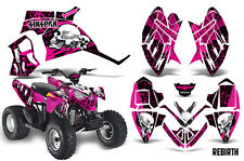 SIKSPAK Polaris Outlaw 90 Graphic Kit Wrap Quad Decal ATV All Years REBIRTH PINK