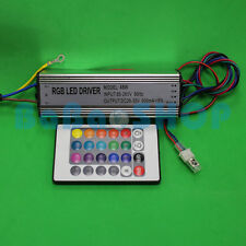 50W RGB AC Waterproof 85-265V Power Supply Driver for LED Light + Remote control
