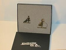 Shelia's Collectibles Shadow Play Boy and Girl Mint in Box
