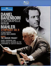 Daniel Barenboim conducts Mahler: Symphony No. 9 [Blu-ray], New DVDs