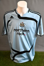 Newcastle United Football Shirt Away Adult L 07/08 Adidas Soccer Jersey Camesita