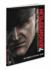 Metal Gear Solid 4: Guns of the Patriots: Prima Official Game Guide (Prima Offi