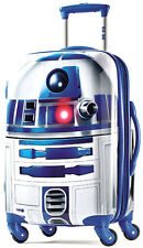 "American Tourister Star Wars Hardside 21"" Spinner Carry On Luggage - R2D2"
