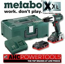 Metabo SB 18 LT Combi Drill, ASC 30-36 Charger (2 x LiHD 3.1Ah Batteries)