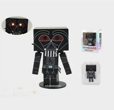 Danboard Danbo Cosplay Darth Vader Action Figure Cute with light 8cm Model Gift