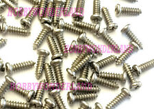 M 1.5mm x 5.5mm Round Head Screw for RC toy Hobby x 50 pcs