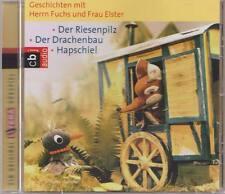 HERR FUCHS UND FRAU ELSTER Der Riesenpilz Drachenbau Hapschie CD LITERA Kinder