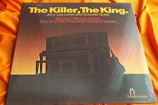 Sealed Blue Vinyl LP: Jerry Lee Lewis ~ The Killer, The King ~ Roller Skate