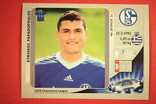 PANINI CHAMPIONS LEAGUE 2012/13 N. 105 PAPADOPOULOS SCHALKE 04 BLACK MINT!