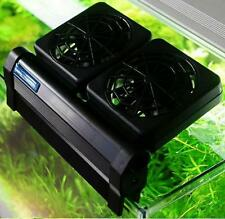 Aquarium Cooling Fan ColdWind 2 fan Fish Tank 80L 20 Gallons Chiller NEW AUSUNNY