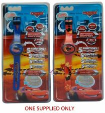 Disney Cars 'Red or Blue Assorted' 1x Wrist Watch Brand New Gift