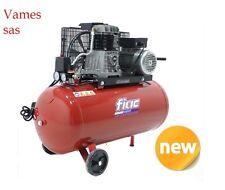 COMPRESSORE ARIA FIAC TRASMISSIONE A CINGHIA AB100/268 lt100  2HP 1,5KW 10 Bar